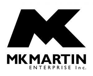 MK Martin logo - Line Art